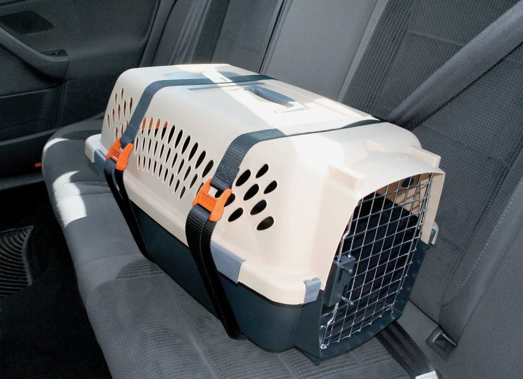how to secure a dog crate door